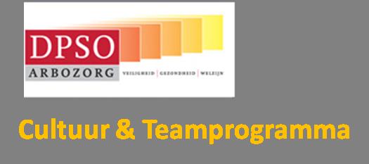 DPSO Cultuur & Teamprogramma